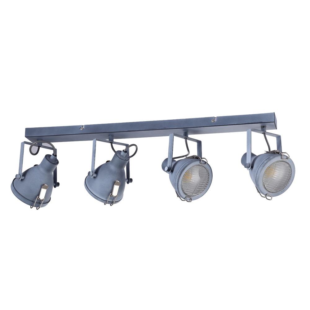 Настенно-потолочный светильник Arte Lamp A9178PL-4GY, E14, 40 Вт