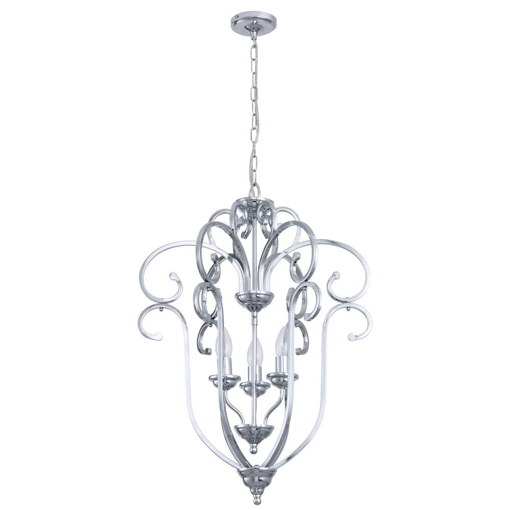 Подвесной светильник Arte Lamp A8033SP-3CC, E14, 60 Вт