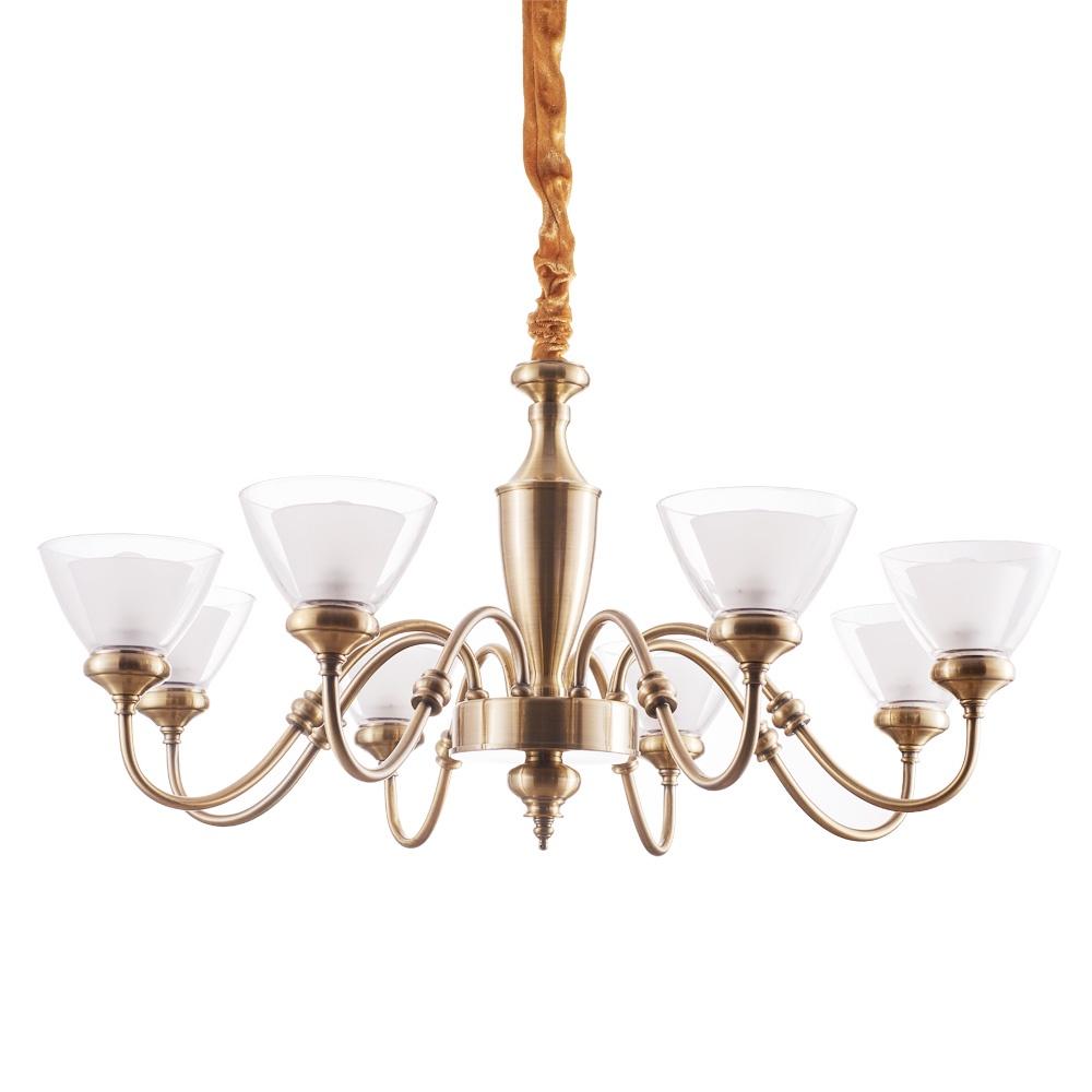Подвесной светильник Arte Lamp A5184LM-8AB, E14, 40 Вт цена 2017