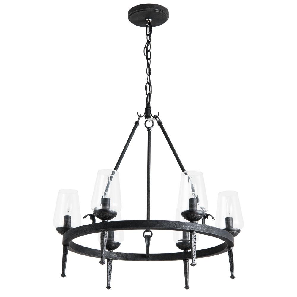 Подвесной светильник Arte Lamp A1722SP-6BA, E14, 60 Вт