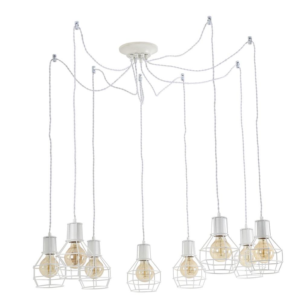 Подвесной светильник Arte Lamp A9182SP-8WH, E27, 60 Вт цена 2017