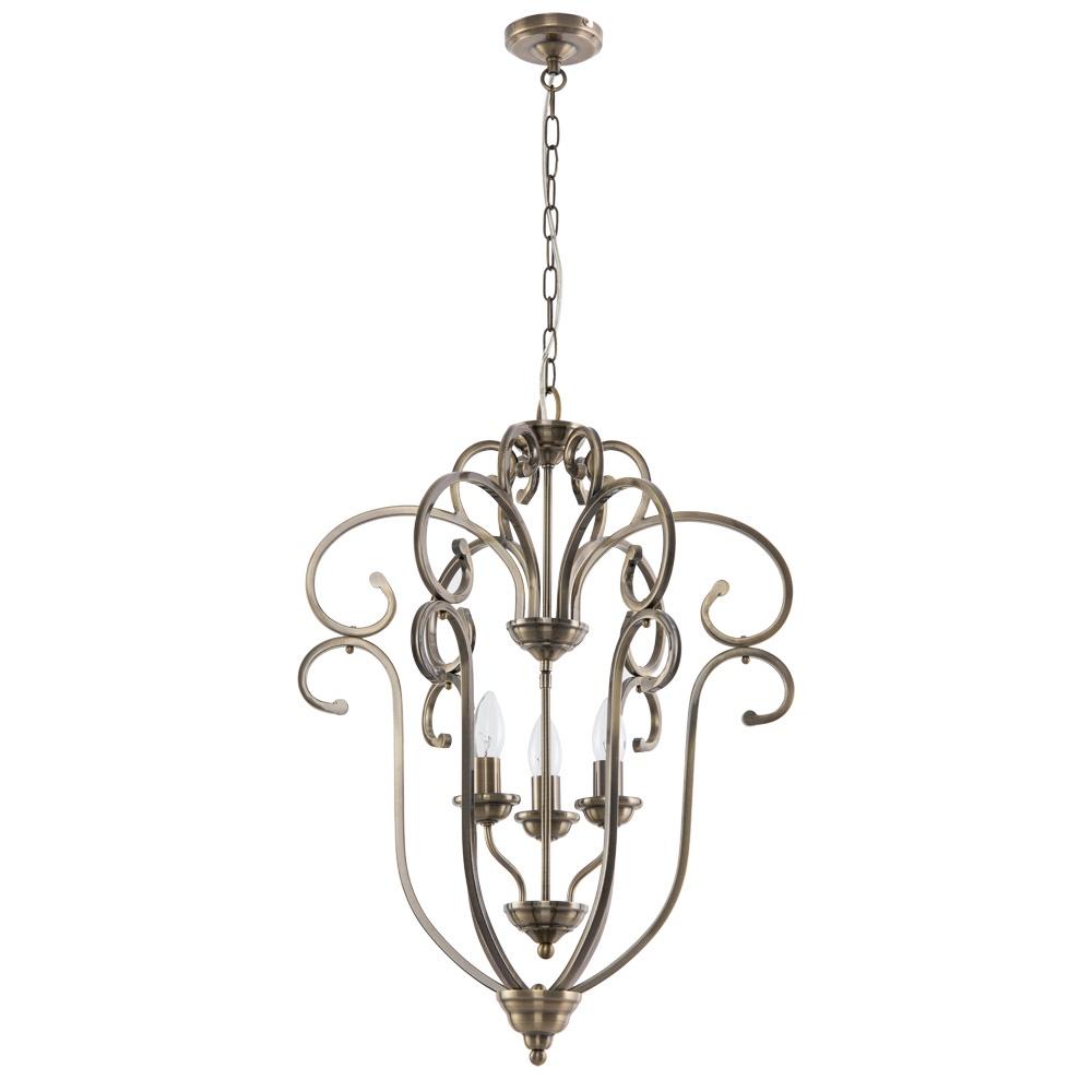 Подвесной светильник Arte Lamp A8033SP-3AB, E14, 60 Вт