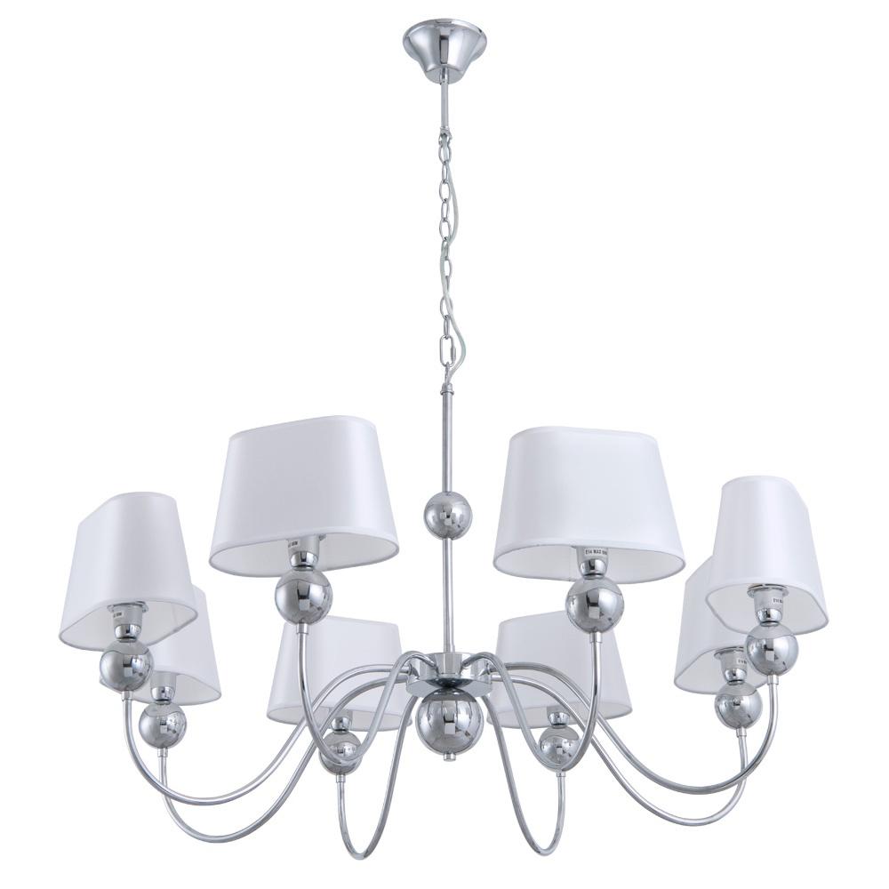Подвесной светильник Arte Lamp A4012LM-8CC, E14, 60 Вт