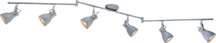 Настенно-потолочный светильник Arte Lamp A1677PL-6GY, E14, 40 Вт