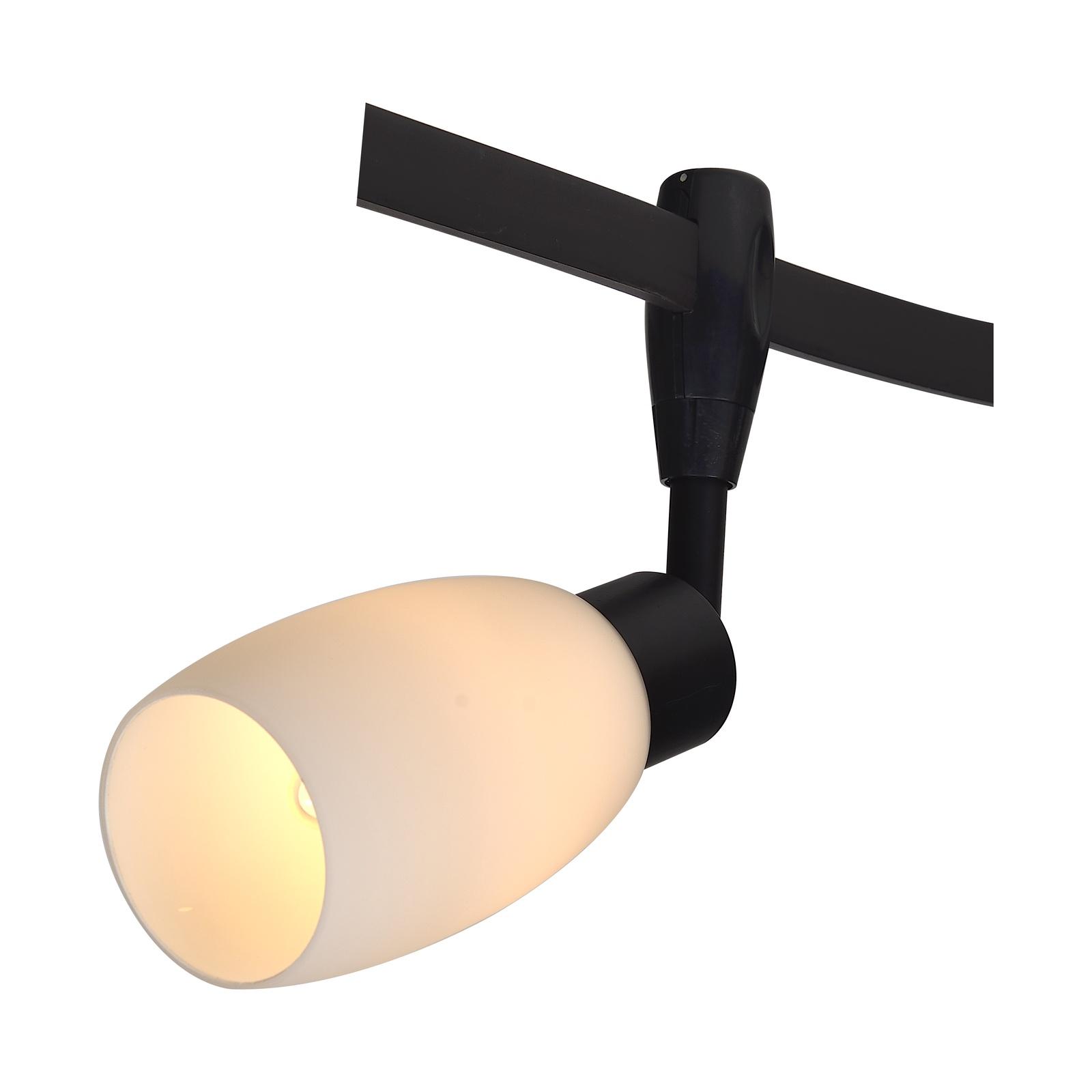 Настенно-потолочный светильник Arte Lamp A3059PL-1BK, E14, 40 Вт