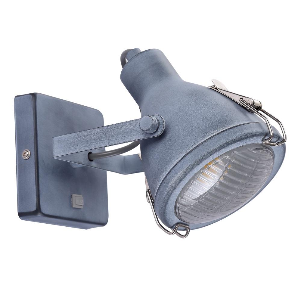 цена Настенно-потолочный светильник Arte Lamp A9178AP-1GY, серый в интернет-магазинах