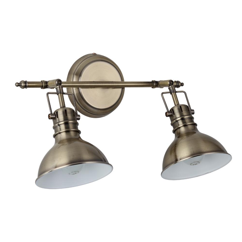 Настенно-потолочный светильник Arte Lamp A1102AP-2AB, E14, 40 Вт
