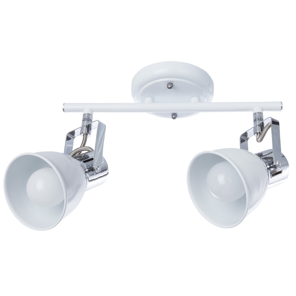 Настенно-потолочный светильник Arte Lamp A1677PL-2WH, E14, 40 Вт