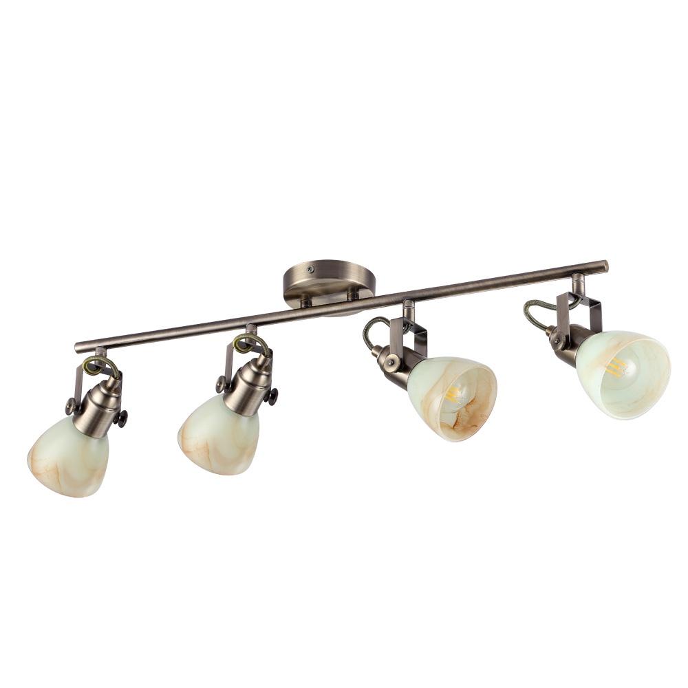 Настенно-потолочный светильник Arte Lamp A9582PL-4AB, E14, 40 Вт