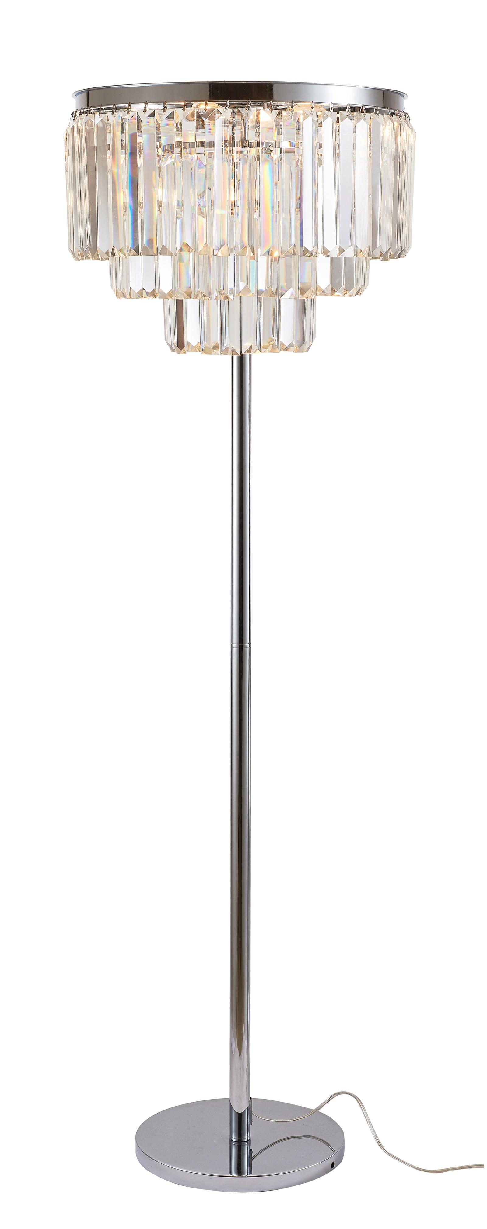 Напольный светильник Divinare 3001/02 PN-6, серый металлик