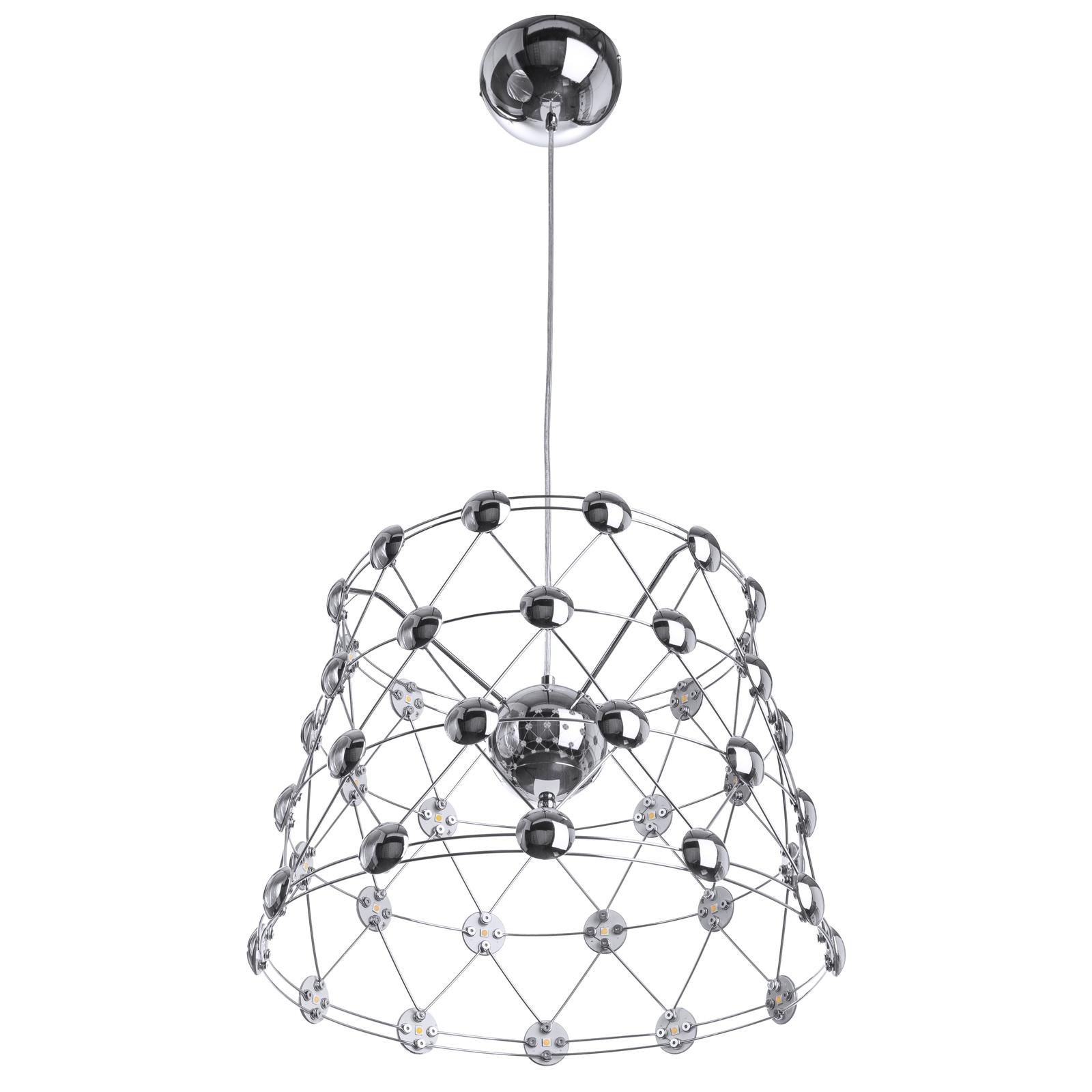 Подвесной светильник Divinare 1609/02 SP-48, серый металлик подвесной светильник divinare 1157 01 sp 2 серый металлик