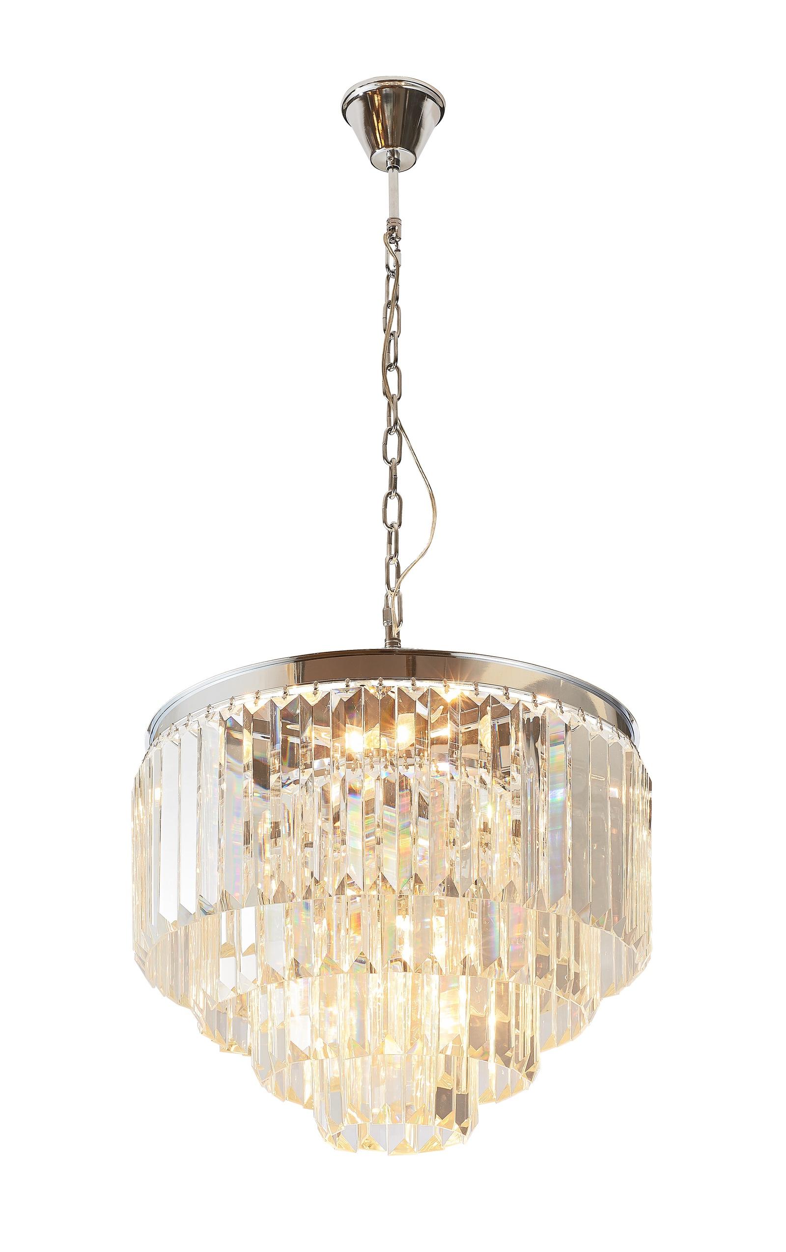 Подвесной светильник Divinare 3001/02 LM-9, серый металлик alta 3001