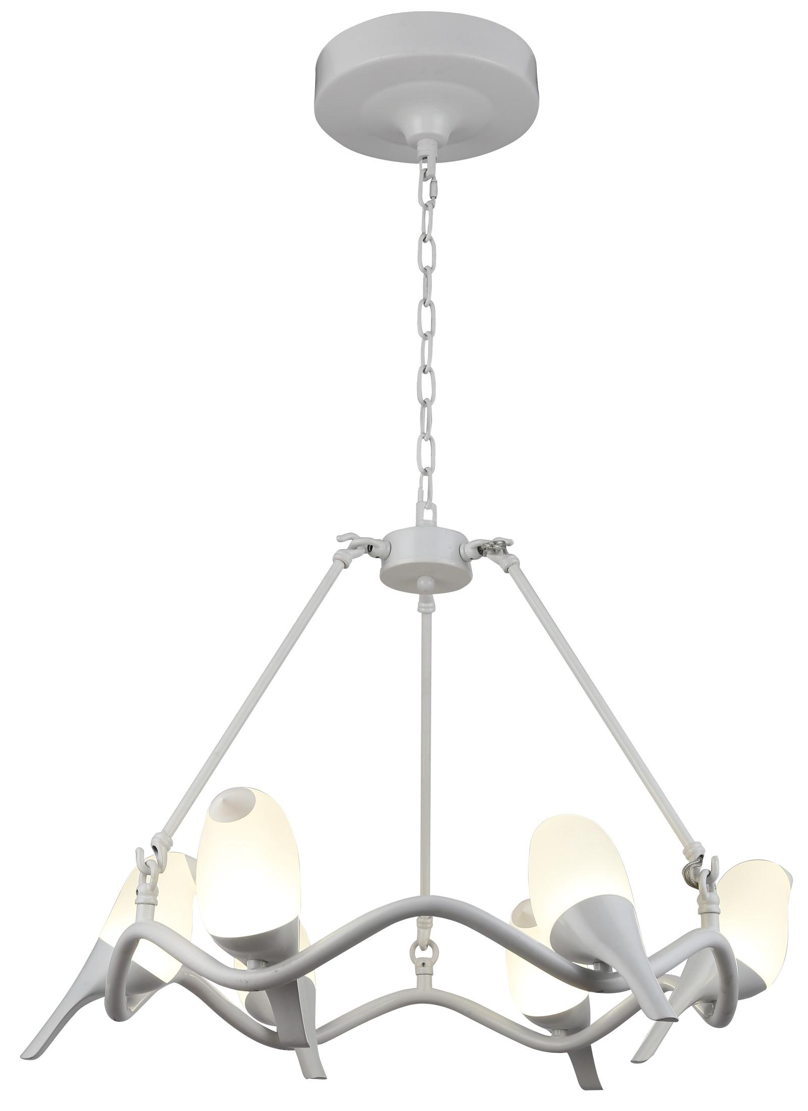 Подвесной светильник Divinare 9656/03 SP-6, белый цена
