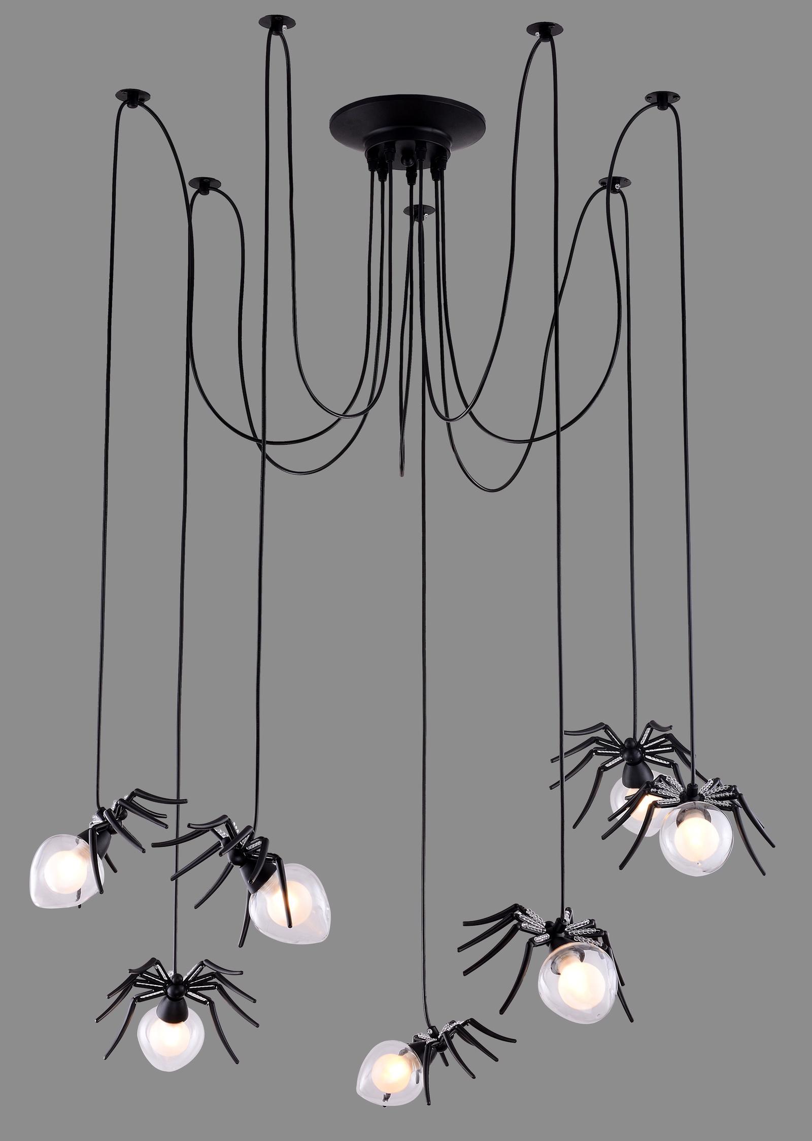 Подвесной светильник Divinare 1308/02 SP-7, серый металлик