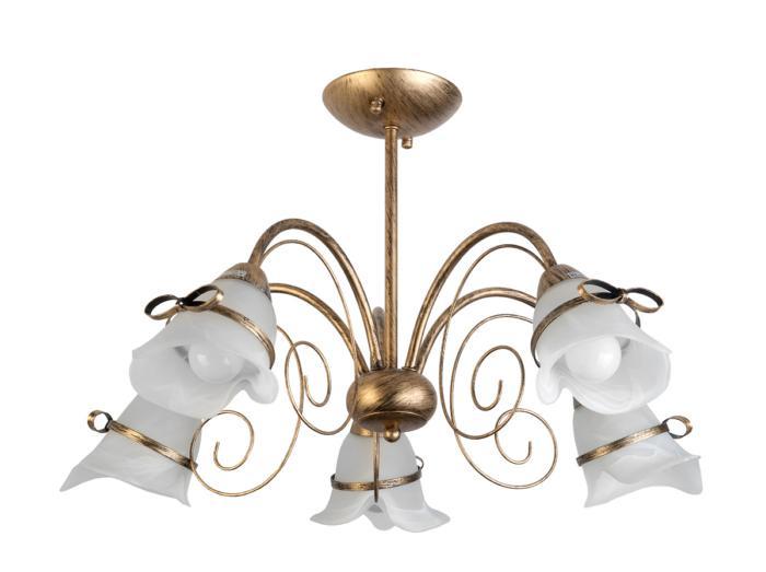 Потолочный светильник Toplight TL3620X-05, золотой