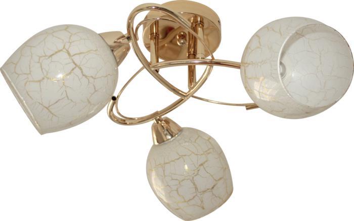Потолочный светильник Toplight TL7440X-03FG, золотой janelle denison bride included