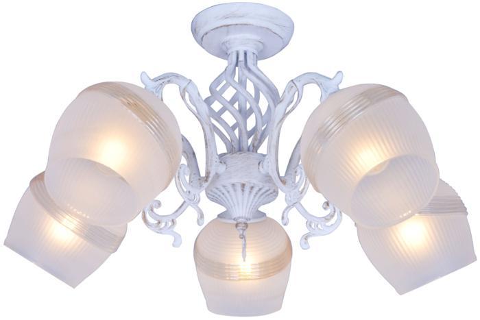 Потолочный светильник Toplight TL1140-5H, золотой люстра toplight iris tl1140 3h