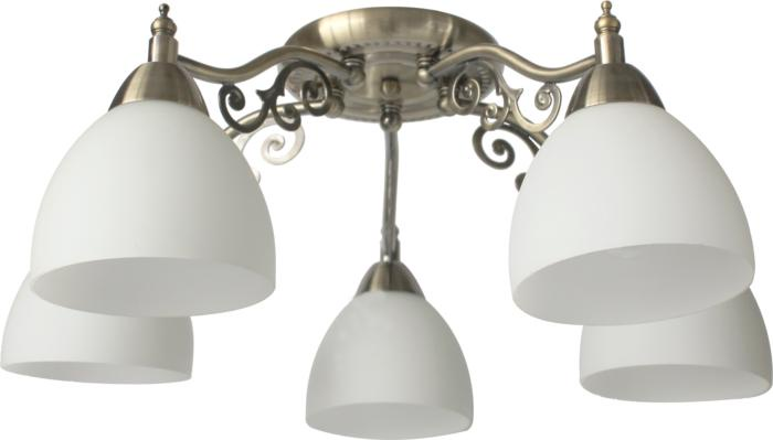 Потолочный светильник Toplight TL7371X-05AB, бронза потолочная люстра toplight lora tl7371x 05ab