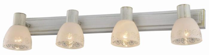 Настенно-потолочный светильник Toplight TL3740Y-04WG, золотой toplight настенный спот toplight shona tl3740y 04wg