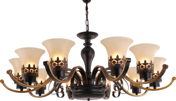 Фото - Подвесной светильник Toplight TL7490D-08BL, коричневый портфели wenger w23 08bl