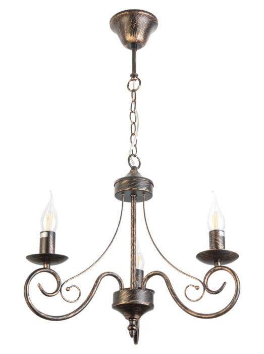 Подвесной светильник Toplight TL6010D-03, черный подвесная люстра dalila tl6010d 03