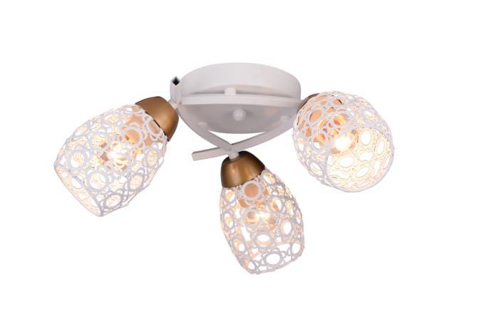 Потолочный светильник Toplight TL3810X-03WH, белый потолочная люстра toplight mavis tl3810x 03wh