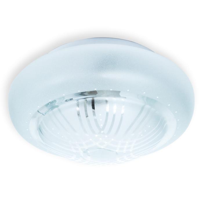 Настенно-потолочный светильник Toplight TL9561Y-01WH, серый металлик toplight tl9070y 01pn