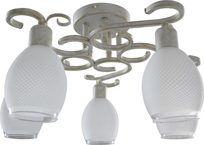 Потолочный светильник Toplight TL7360X-05WG, белый toplight потолочная люстра toplight loretta tl7360x 05wg