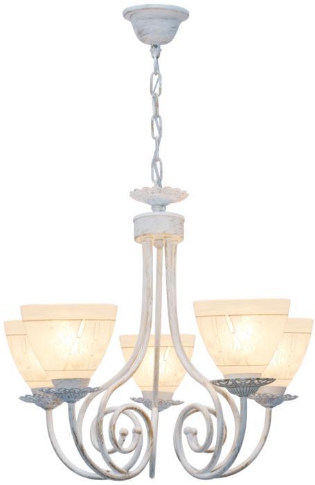 Подвесной светильник Toplight TL1134-5H, E27, 60 Вт элмастер 12530es 5h cr wt люстра хром e27 h200mm x d500mm