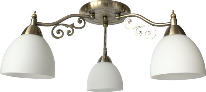 Потолочный светильник Toplight TL7371X-03AB, бронза потолочная люстра toplight lora tl7371x 05ab