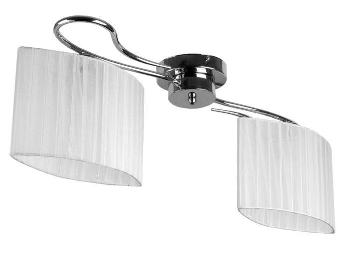 Потолочный светильник Toplight TL3650X-02CH, E27, 40 Вт потолочная люстра toplight jeanne tl3650x 03ch