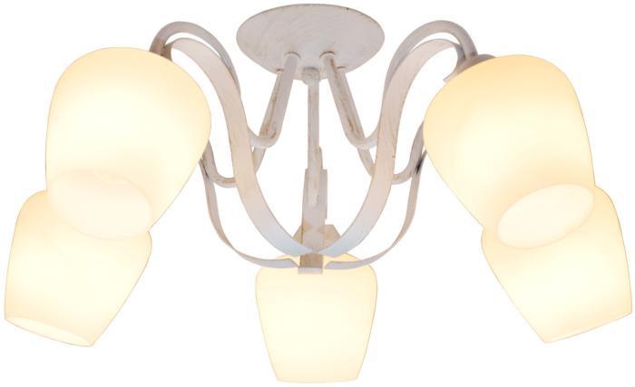 Потолочный светильник Toplight TL1133-5D, E27, 60 Вт бра toplight abegail tl1133 1w