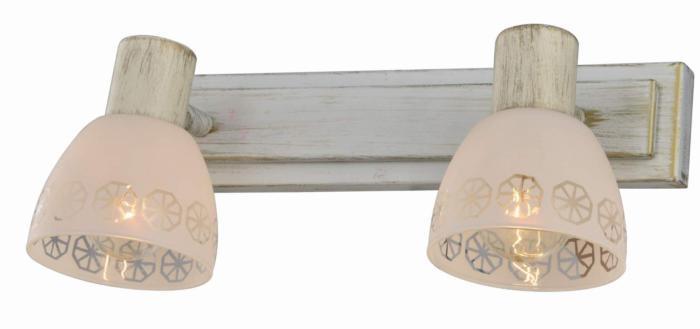 Настенно-потолочный светильник Toplight TL3740Y-02WG, золотой toplight настенный спот toplight shona tl3740y 04wg