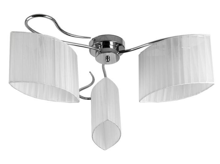 Потолочный светильник Toplight TL3650X-03CH, E27, 40 Вт потолочная люстра toplight jeanne tl3650x 03ch