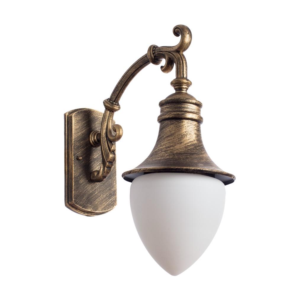 Уличный светильник Arte Lamp A1317AL-1BN, коричневый уличный подвесной светильник arte lamp genova a1205so 1bn
