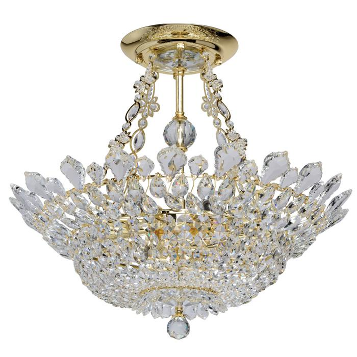 Потолочный светильник Mw Light 447011012, золотой люстра mw light патриция 447011012