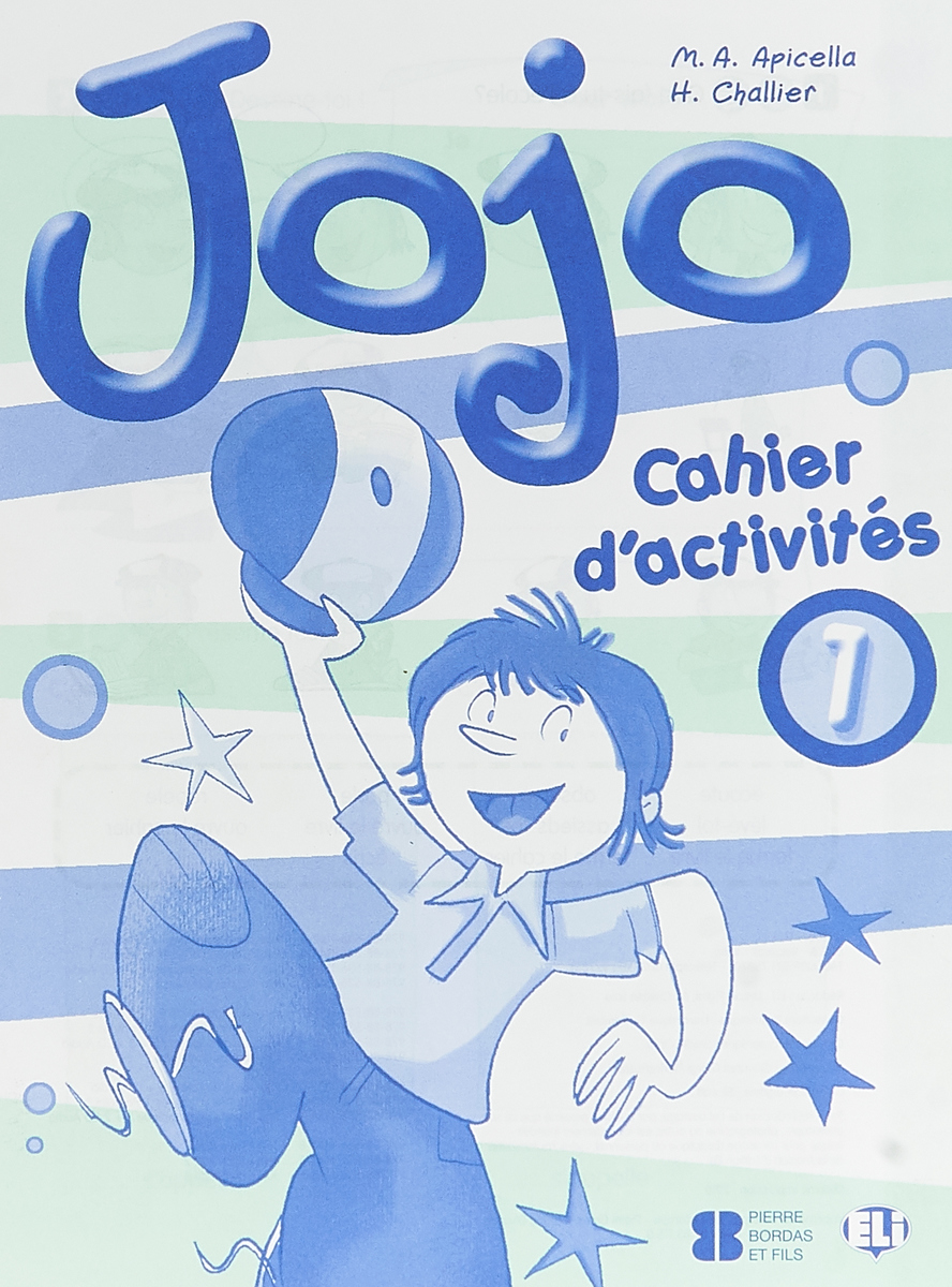лучшая цена Jojo 1: Activity Book (+ CD) (Songs)