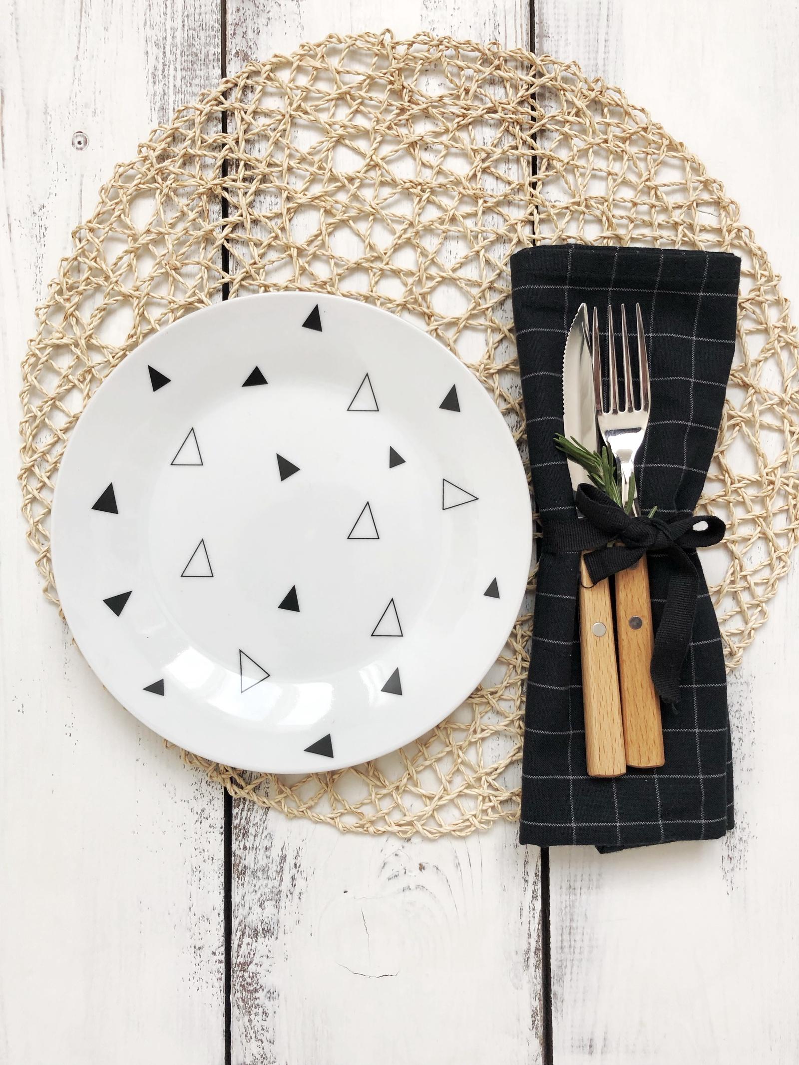 Тарелка Сотвори Чудо Треугольник 20 см, белый тарелка мелкая сотвори чудо бантик sans brides диаметр 20 см