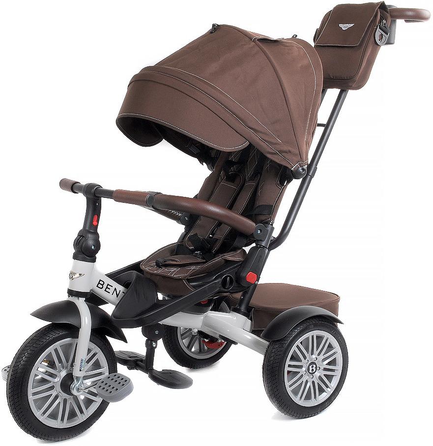 Детский велосипед Bentley трехколесный, BN2BR/2019, коричневый велосипед трехколесный с ручкой bentley bn2b 2019