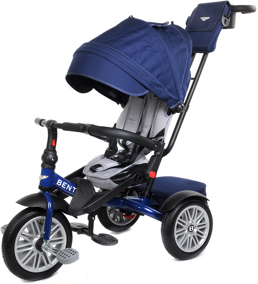 Детский велосипед Bentley трехколесный, BN2B/2019, синий велосипед трехколесный с ручкой bentley bn2b 2019