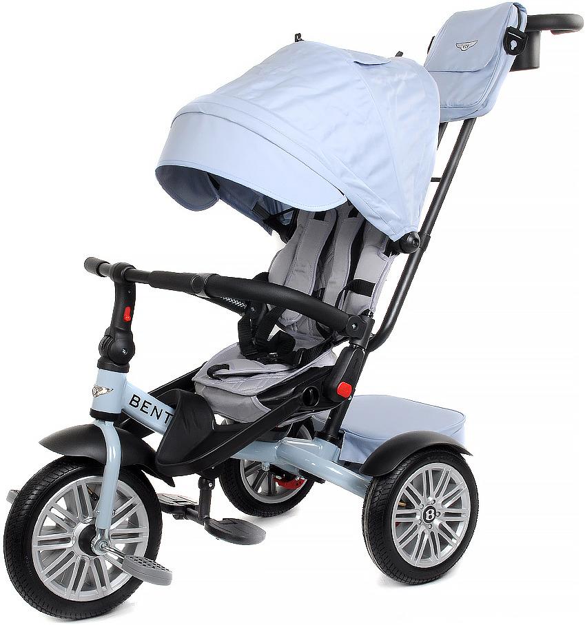 Детский велосипед Bentley трехколесный, BN2LB/2019, голубой велосипед трехколесный с ручкой bentley bn2b 2019