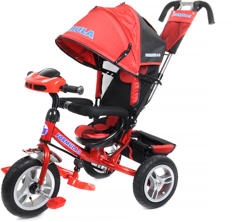 Детский велосипед Formula 3 трехколесный, FA3R/2019, красный