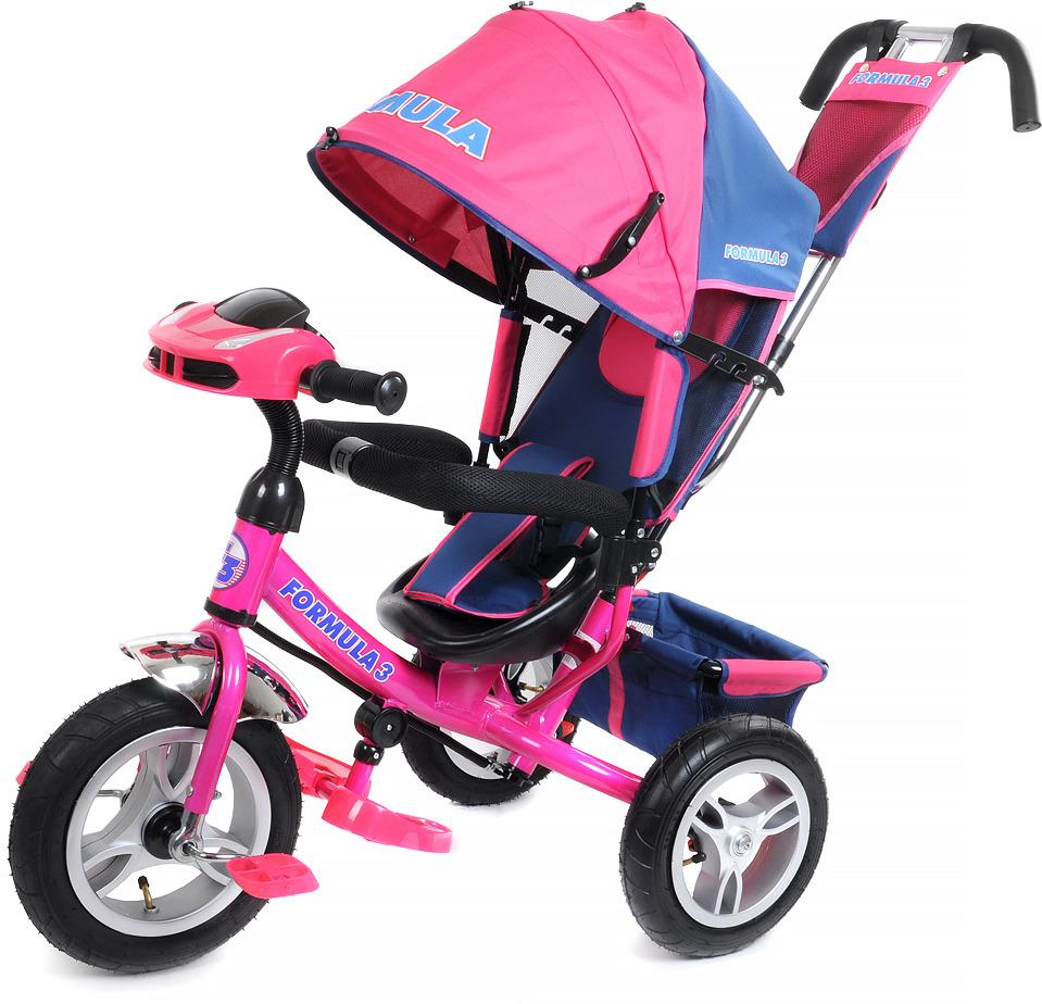 Детский велосипед Formula 3 трехколесный, FA3P/2019, розовый