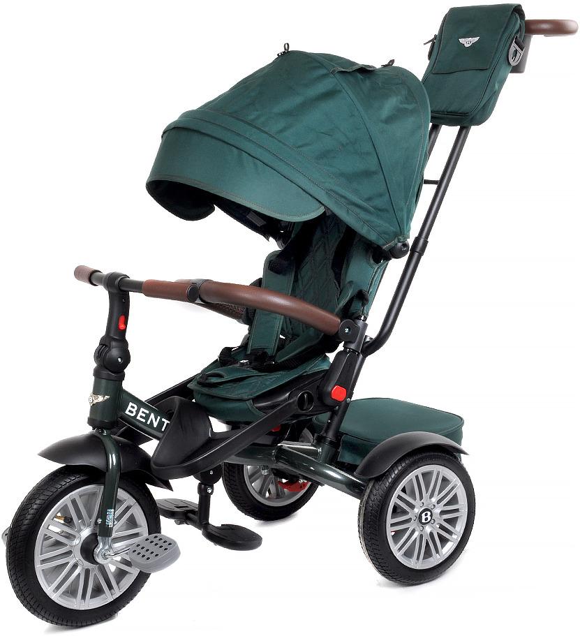 Детский велосипед Bentley трехколесный, BN2G/2019, зеленый велосипед трехколесный с ручкой bentley bn2b 2019