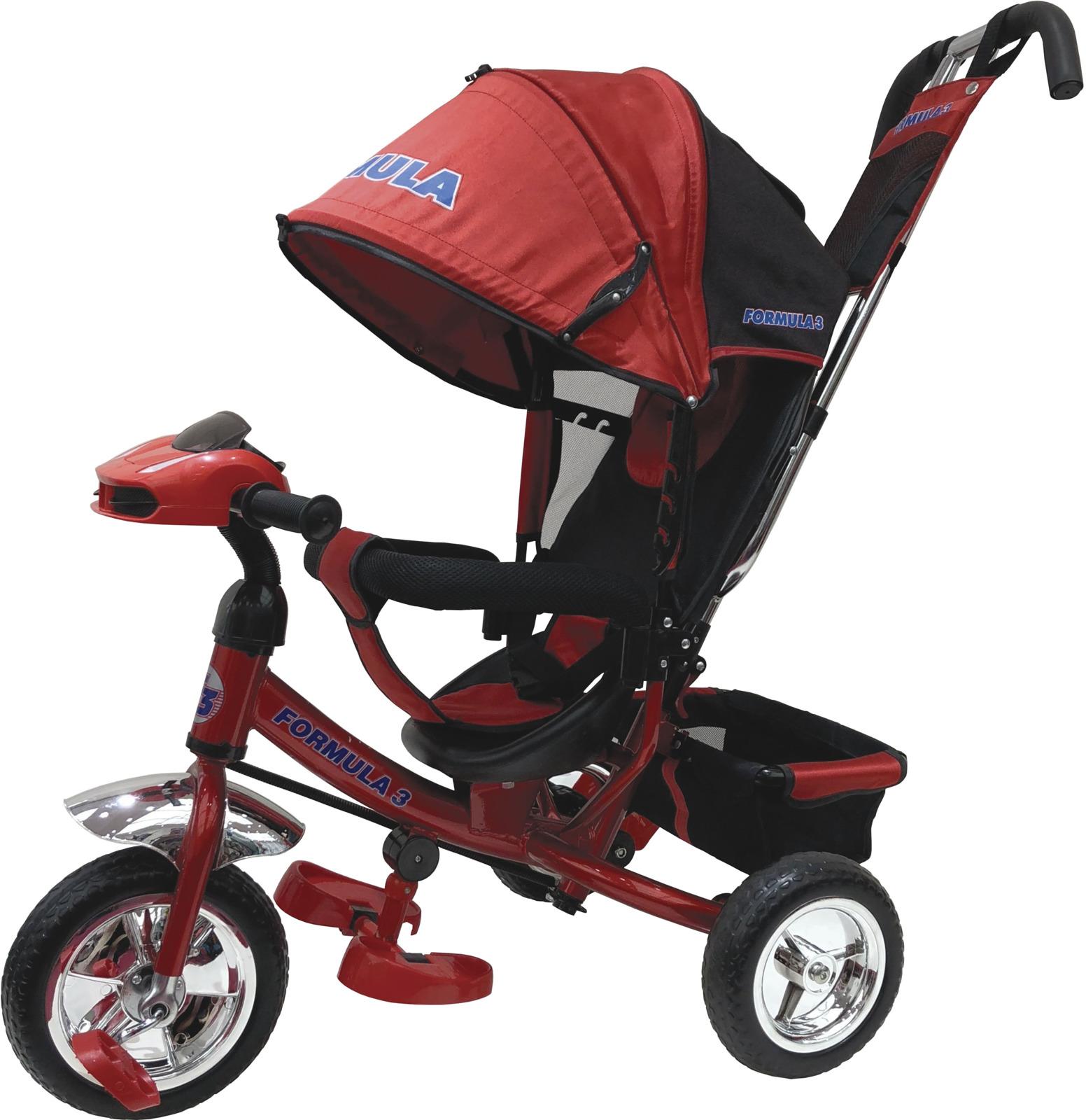 Детский велосипед Formula 3 трехколесный, F3R/2019, красный