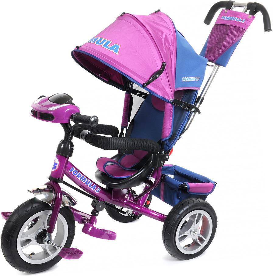 Детский велосипед Formula 3 трехколесный, FA3V/2019, фиолетовый