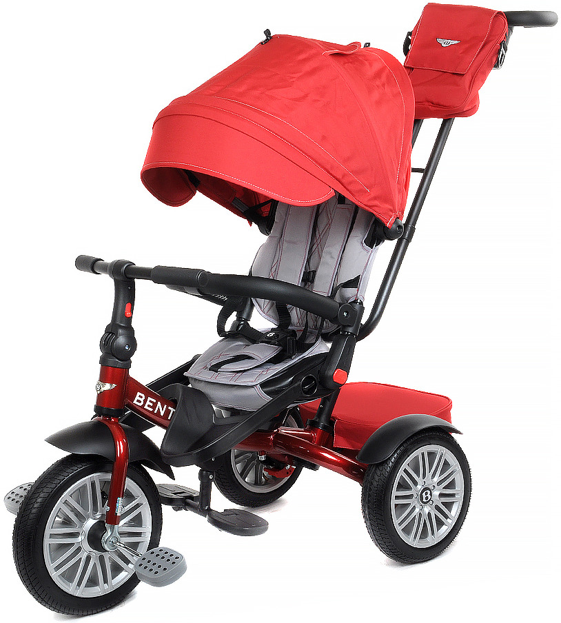 Детский велосипед Bentley трехколесный, BN2R/2019, красный велосипед трехколесный с ручкой bentley bn2b 2019