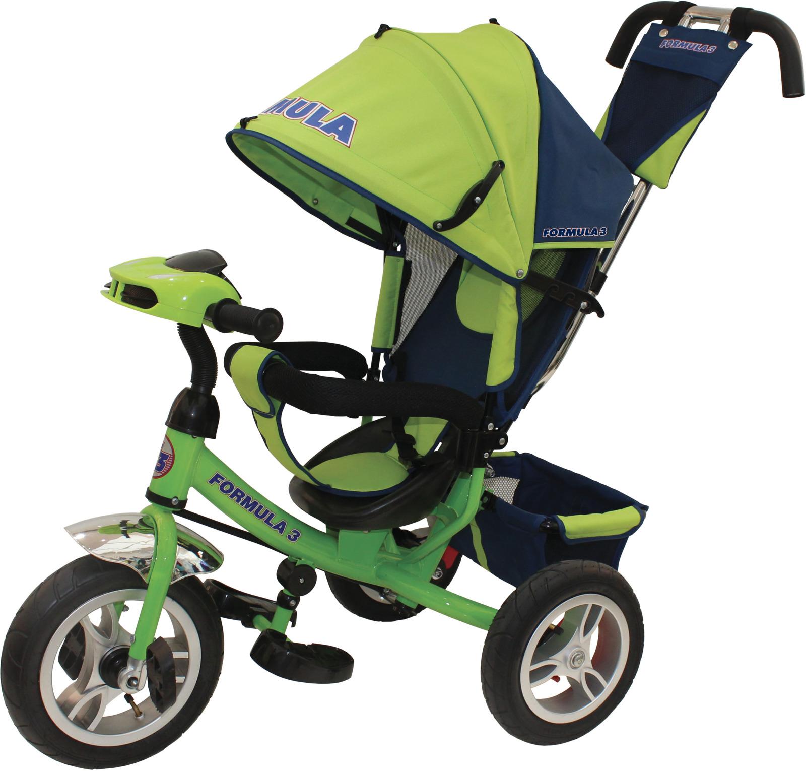Детский велосипед Formula 3 трехколесный, FA3G, зеленый