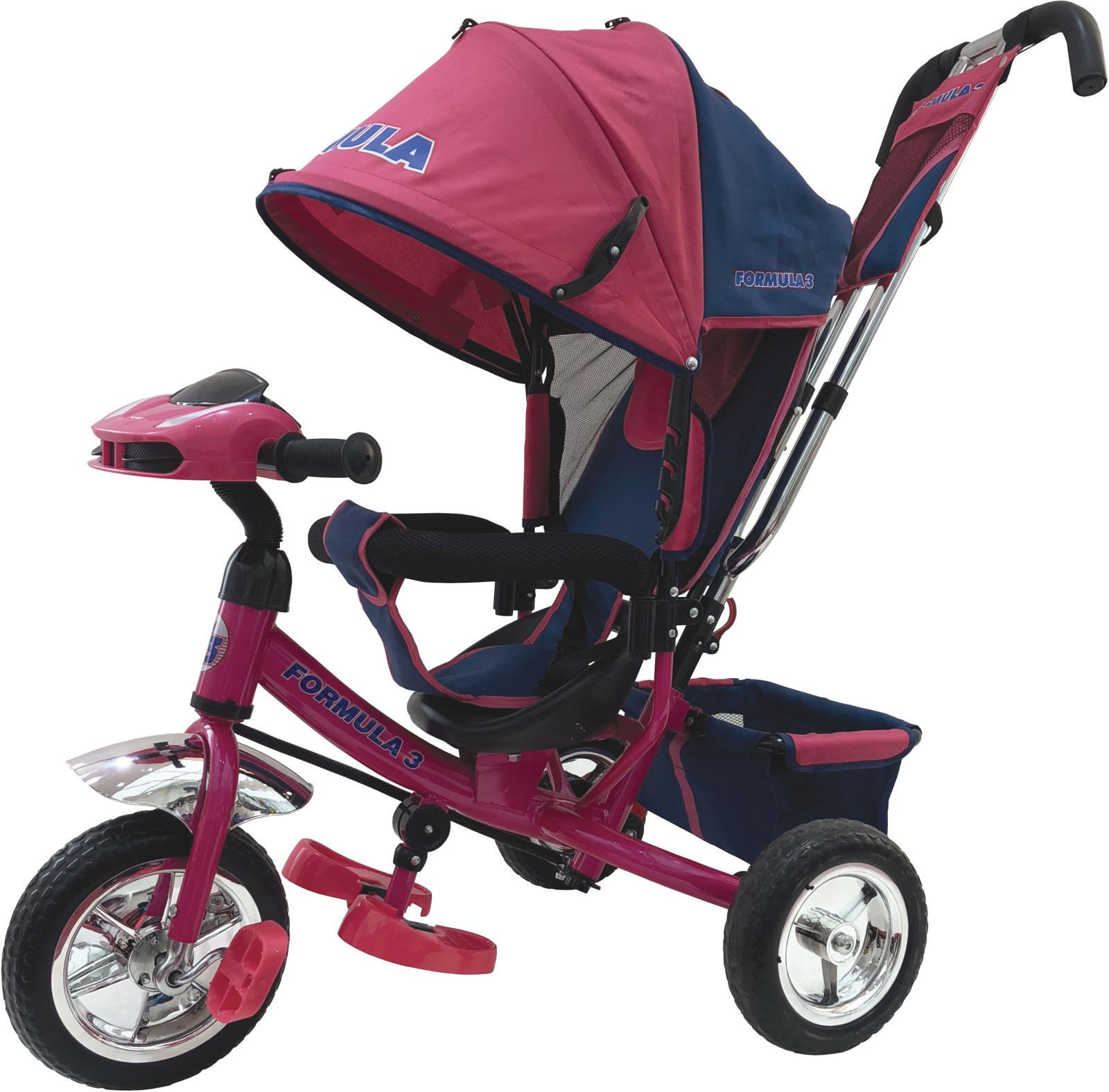 Детский велосипед Formula 3 трехколесный, F3P/2019, розовый