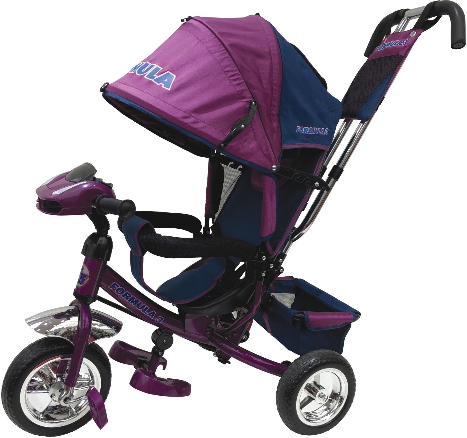 Детский велосипед Formula 3 трехколесный, F3V/2019, фиолетовый